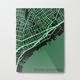 Fishtown Metal Print