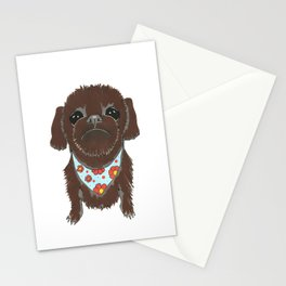 Pedicure Puppy Stationery Cards