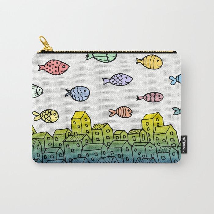 Underwater village II Carry-All Pouch