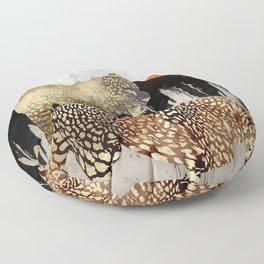 Minimal Leopards Floor Pillow