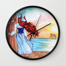 When Love Sails Away... Wall Clock