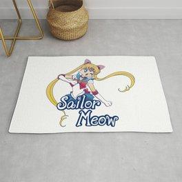 Sailor Meow Rug