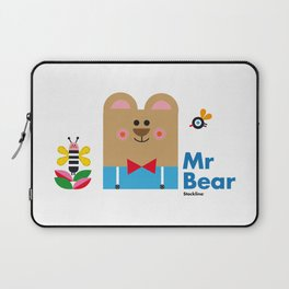 Mr Bear Laptop Sleeve