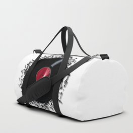 Musical Notes Record Duffle Bag