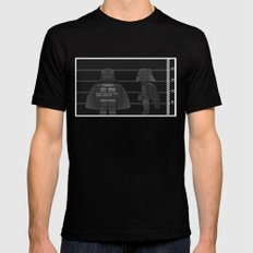 Jeff | You'll Need a Tray Mens Fitted Tee LARGE Black