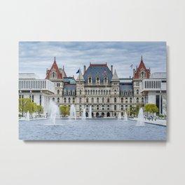 New York State Capitol 01 Metal Print