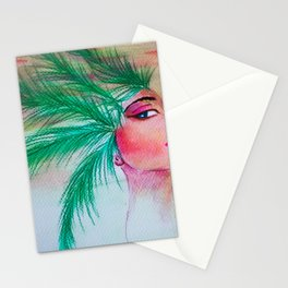 Pharao palm crown Stationery Cards