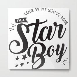 I am a Starboy Metal Print