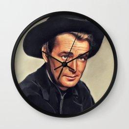 Alan Ladd, Hollywood Legend Wall Clock