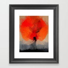 umbrellaliensunshine: atomicherry spring! Framed Art Print