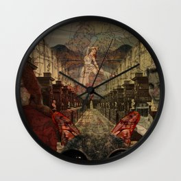 the cat ballet Wall Clock