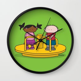 Playground  XL Wall Clock