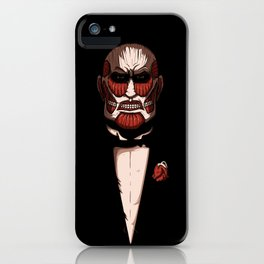 Colossal godfather iPhone Case