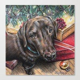 Best Christmas Present Ever Canvas Print