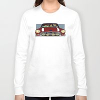 cargline Long Sleeve T-shirts featuring Road Trip by cargline