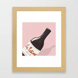 Le Wine Framed Art Print