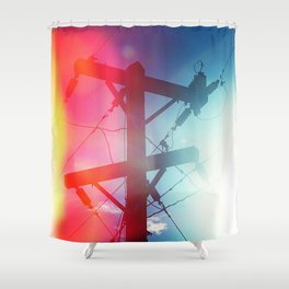 Tele Shower Curtain