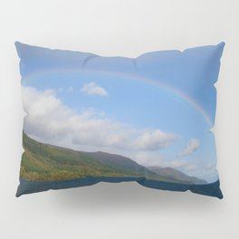 Rainbow Over Loch Ness Pillow Sham