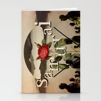 samurai Stationery Cards featuring samurai by Rosa Picnic