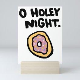 O Holey Night Mini Art Print