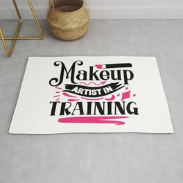 Makeup Artist In Training Pretty Beauty Rug