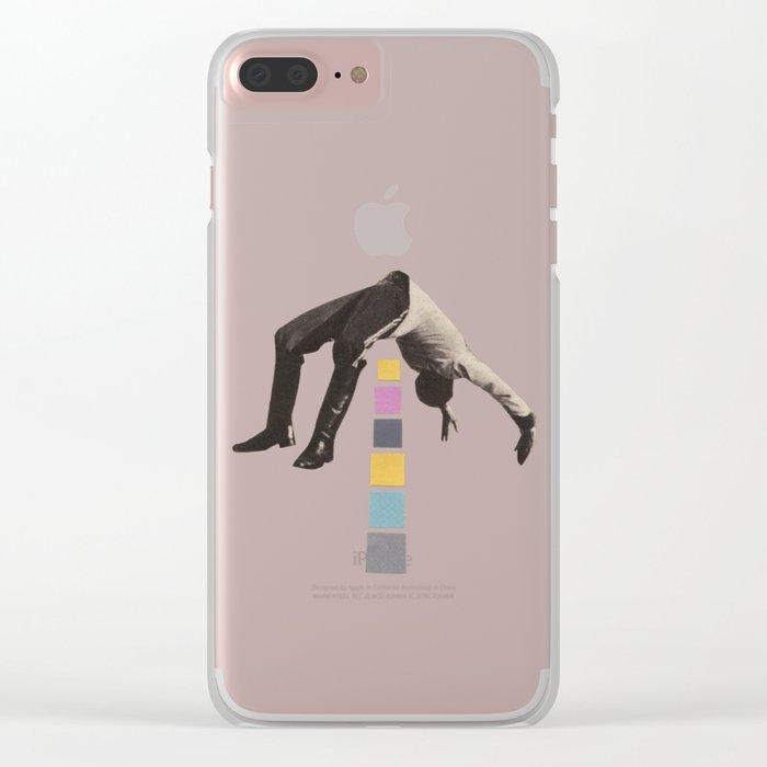 High Jump Clear iPhone Case