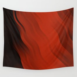 wavy lines pattern dr Wall Tapestry