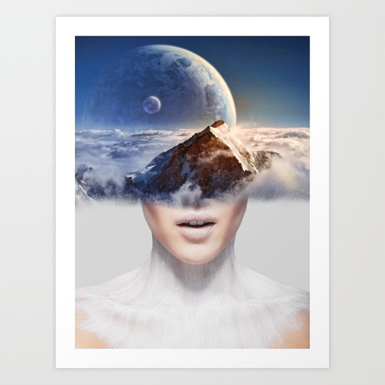 Mountain Dream Art Print