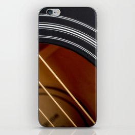 Guitar String Abstract 4 iPhone Skin