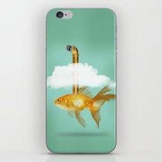 Periscope Goldfish iPhone Skin