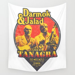 Darmok and Jalad at Tanagra - Sunset Wall Tapestry