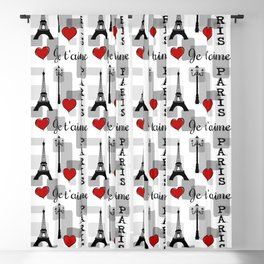 Paris 3 Blackout Curtain