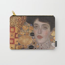Gustav Klimt -The Woman in Gold Carry-All Pouch