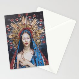 Hail Mary, Full of Grace Stationery Cards