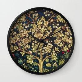 William Morris Tree Of Life Wall Clock