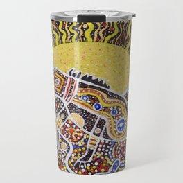 Water Dragon Totem Animal Travel Mug