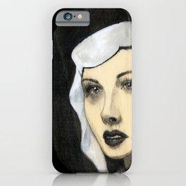 Hedy Lamar iPhone Case