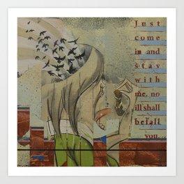 Breadcrumbs: Hansel and Gretel Art Print