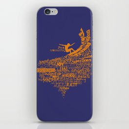 I'm a Transurfer Orange iPhone Skin