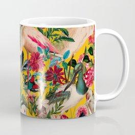 FLORAL AND BIRDS XVIII Coffee Mug