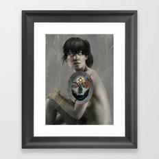 The Whispers.  Framed Art Print