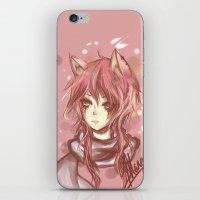 leon iPhone & iPod Skins featuring Leon by MilkNCreams