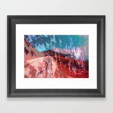 Distorted Hilltops #4 Framed Art Print