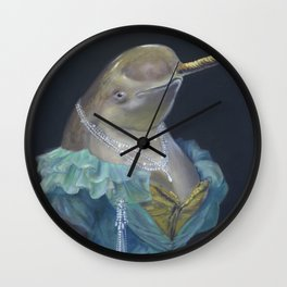 MADAME NARWHAL, by Frank-Joseph Wall Clock