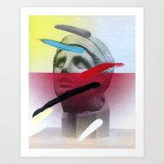 Composition on Panel 20 Art Print