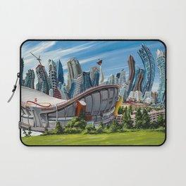 Downtown Calgary Skyline Laptop Sleeve