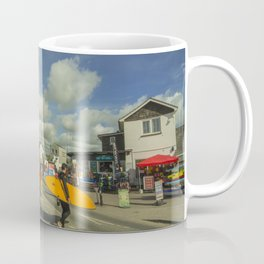Surf crossing Coffee Mug