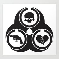 NYTR Biohazard  Art Print