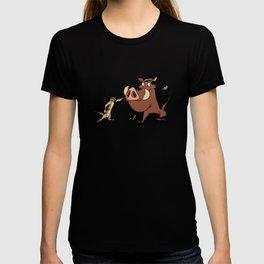 Funny Timon and Pumbaa T-shirt