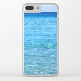 Crystal Sea Clear iPhone Case